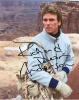 Richard Dean Anderson from the TV series MACGYVER