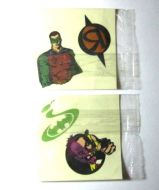 Batman Forever Kelloggs Cereal Premium Tattoos - (Earn 0 reward points on this item worth $0.00)