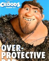 Nicolas Cage from the movie THE CROODS