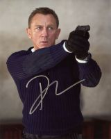 Daniel Craig from the movie NO TIME TO DIE