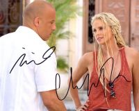 Vin Diesel / Charlize Theron from the movie FATE OF THE FURIOUS
