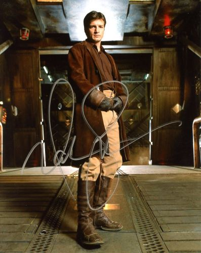 Nathan Fillion from the TV series FIREFLY