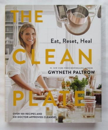 Gwyneth Paltrow THE CLEAN PLATE Signed Book