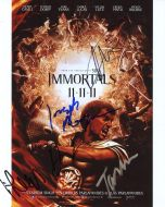 Evans / Morgan / Lucas / Sharman / Singh from the movie THE IMMORTALS - (Earn 4 reward points on this item worth $1.00)