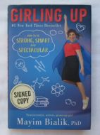 Mayim Bialik Girling Up Signed Book - (Earn 5 reward points on this item worth $1.25)