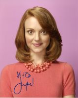 Jayma Mays from the TV series GLEE