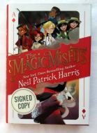 Neil Patrick Harris The Magic Misfits Signed Book - (Earn 5 reward points on this item worth $1.25)