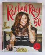 Rachael Ray 50 Signed Book - (Earn 5 reward points on this item worth $1.25)