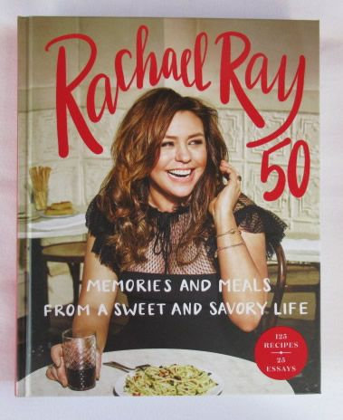 Rachael Ray 50 Signed Book