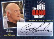 Casey Sander BBT Autograph Card - (Earn 2 reward points on this item worth $0.50)