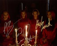 Scream Queens Cast Signed Photo by 4