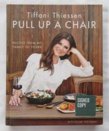 Tiffani Thiessen PULL UP A CHAIR Signed Book - (Earn 5 reward points on this item worth $1.25)