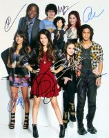 Justice / Grande / Jorgia / Thomas / Gillies / Monet / Bennett 11x14 from the TV series VICTORIOUS