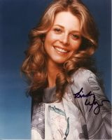 Lindsay Wagner from the TV series THE BIONIC WOMAN (private signing)