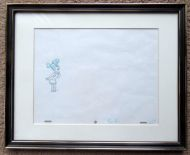 Wilma Flintstone Animation Cel Drawing - (Earn 20 reward points on this item worth $5.00)